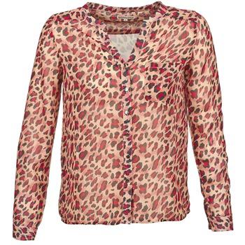 tekstylia Damskie Koszule z długim rękawem Best Mountain AZARI Beżowy / Czerwony
