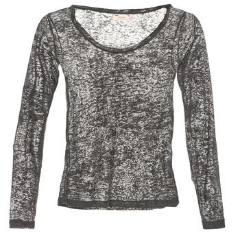 tekstylia Damskie T-shirty z długim rękawem DDP ACAFA Szary