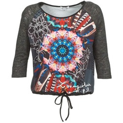 tekstylia Damskie T-shirty z długim rękawem Smash ANNABEL 42 Szary / Wielokolorowe