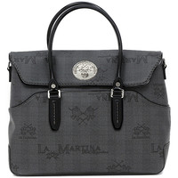 Torby Damskie Torby shopper La Martina EVITA BAG BLACK Multicolore