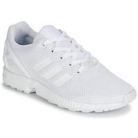 Buty Dziecko Trampki niskie adidas Originals ZX FLUX J Biały