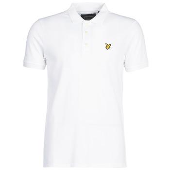 tekstylia Męskie Koszulki polo z krótkim rękawem Lyle & Scott FAFARLIPE Biały
