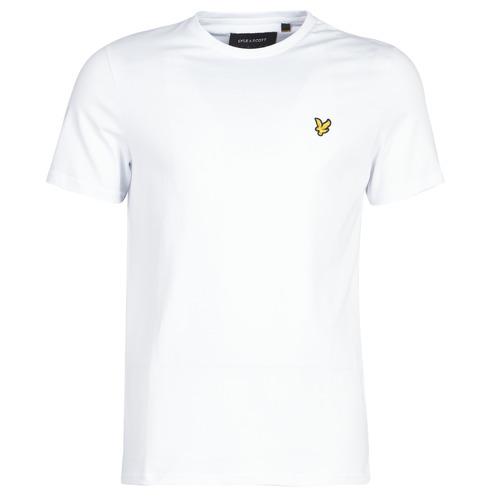 tekstylia Męskie T-shirty z krótkim rękawem Lyle & Scott FAFARLITE Biały