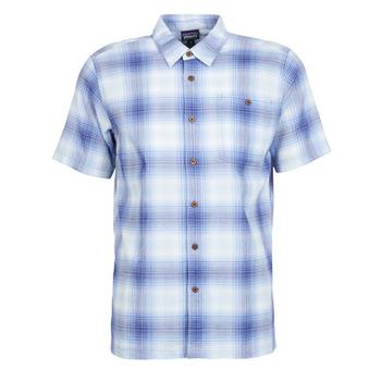 tekstylia Męskie Koszule z krótkim rękawem Patagonia A/C Shirt Niebieski