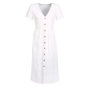 tekstylia Damskie Sukienki długie Betty London KIGAGE Biały