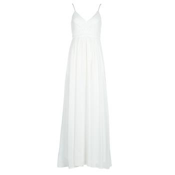 tekstylia Damskie Sukienki długie Betty London VICTOIRE Biały