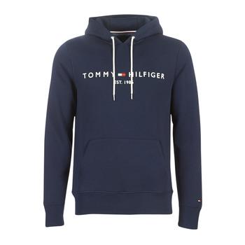 tekstylia Męskie Bluzy Tommy Hilfiger TOMMY LOGO HOODY Marine