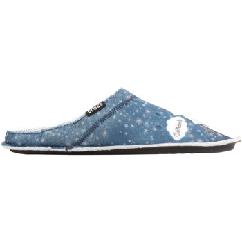 Buty Damskie Obuwie domowe Crocs GRAPHIC SLIPPER 204565-410 niebieski