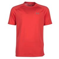 tekstylia Męskie T-shirty z krótkim rękawem Under Armour TECH 2.0 SS TEE Czerwony