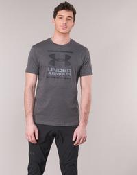 tekstylia Męskie T-shirty z krótkim rękawem Under Armour GL FOUNDATION SS Szary / Antracyt