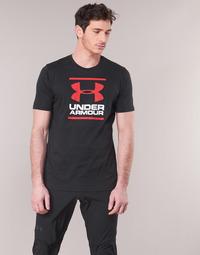tekstylia Męskie T-shirty z krótkim rękawem Under Armour GL FOUNDATION SS Czarny