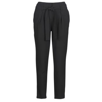 tekstylia Damskie Spodnie z pięcioma kieszeniami Only ONLNICOLE Czarny