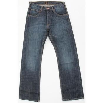 tekstylia Męskie Jeansy straight leg Lee JOEY 71921TK niebieski