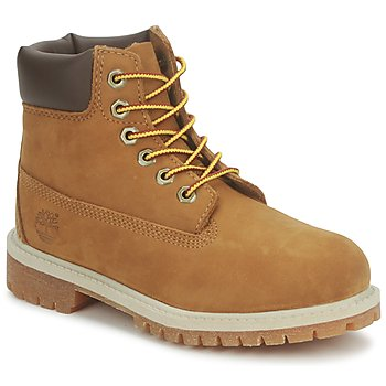 Buty Dziecko Buty za kostkę Timberland 6 IN PREMIUM WP BOOT RUST / Nubuk / With / Honey