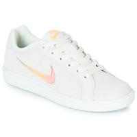 Buty Damskie Trampki niskie Nike COURT ROYALE PREMIUM W Biały / Pomarańczowy