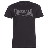 tekstylia Męskie T-shirty z krótkim rękawem Lonsdale LOGO KAI Czarny
