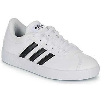 Buty Dziecko Trampki niskie adidas Originals VL COURT K BLC Biały