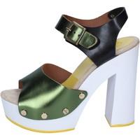 Buty Damskie Czółenka Suky Brand Sandały BS18 Zielony