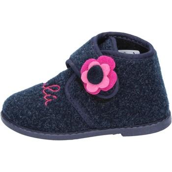 Buty Dziewczynka Obuwie domowe Lulu BS29 Niebieski
