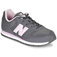 Buty Dziewczynka Trampki niskie New Balance 373 Szary / Różowy