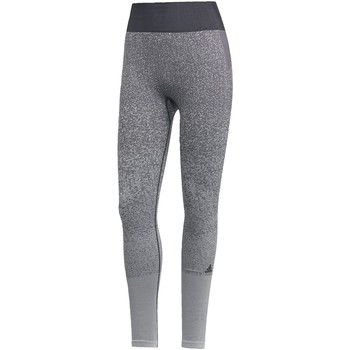 tekstylia Damskie Legginsy adidas Originals Believe This Primeknit FLW Tights Szary