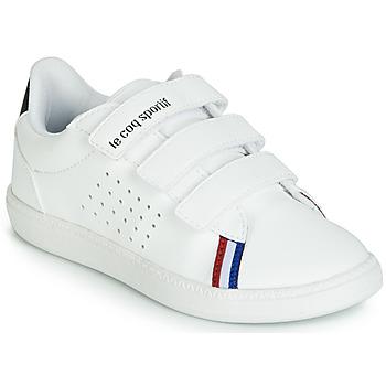 Buty Dziecko Trampki niskie Le Coq Sportif COURTSTAR PS SPORT BBR Biały
