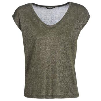tekstylia Damskie T-shirty z krótkim rękawem Only ONLSILVERY Kaki