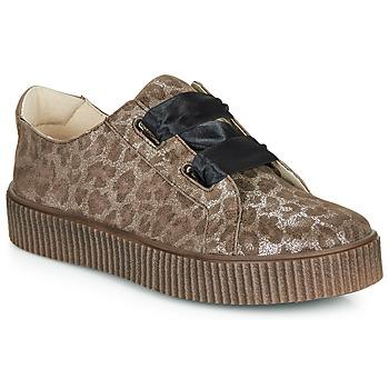 Buty Dziewczynka Trampki niskie Catimini CAVANILLE Leopard