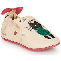 Buty Dziewczynka Obuwie domowe Catimini CALICETTE Beżowy / Różowy