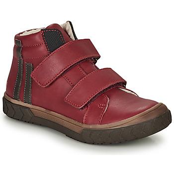 Buty Chłopiec Trampki wysokie GBB OZONE Czerwony