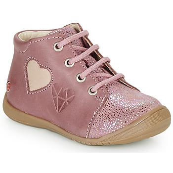 Buty Dziewczynka Trampki wysokie GBB OCALA Vieux / Różowy