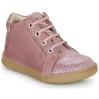 Buty Dziewczynka Trampki wysokie GBB FAMIA Vieux / Różowy
