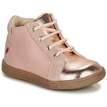 Buty Dziewczynka Trampki wysokie GBB FAMIA Różowy