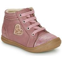 Buty Dziewczynka Trampki wysokie GBB OTANA Vieux / Różowy