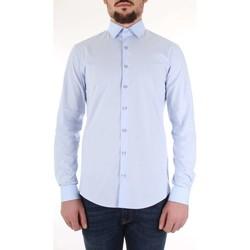 tekstylia Męskie Koszule z długim rękawem Calvin Klein Jeans K10K103170 Niebieski
