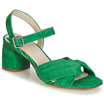 Buty Damskie Sandały Fericelli  Zielony