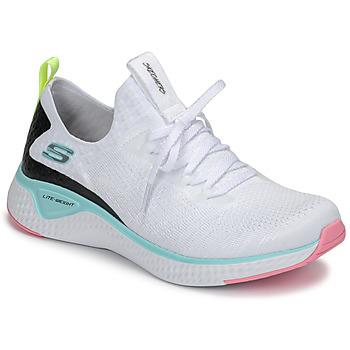 Buty Damskie Fitness / Training Skechers FLEX APPEAL 3.0 Biały / Różowy / Niebieski