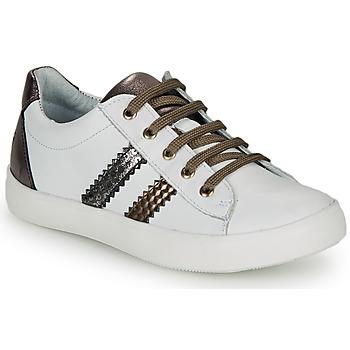 Buty Dziewczynka Trampki niskie GBB MAPLUE Biały