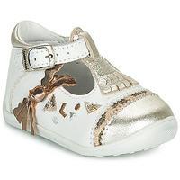 Buty Dziewczynka Baleriny Catimini CANETTE Biały