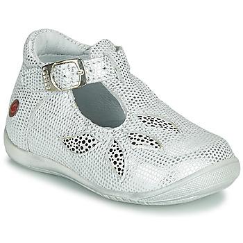 Buty Dziewczynka Sandały GBB MARIE Biały / Srebrny