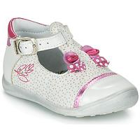Buty Dziewczynka Sandały Catimini CALATHEA Biały / Różowy
