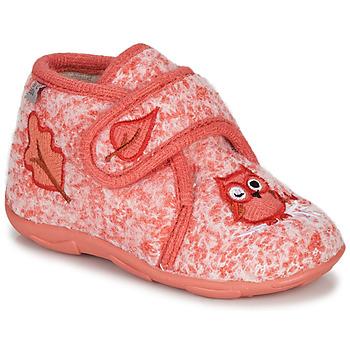 Buty Dziewczynka Obuwie domowe GBB NEOPOLO Różowy / Czerwony