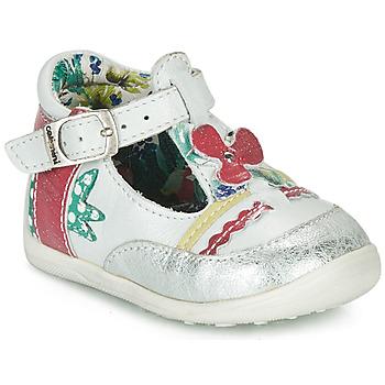 Buty Dziewczynka Sandały Catimini PALOMINO Biały / Różowy