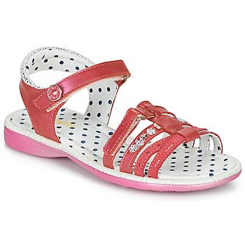 Buty Dziewczynka Sandały Catimini PASTEL Różowy