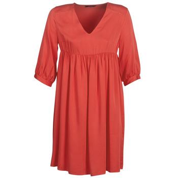 tekstylia Damskie Sukienki krótkie Only ONLVICTORIA Czerwony