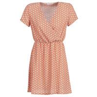 tekstylia Damskie Sukienki krótkie Only ONLTULIPE Pomarańczowy