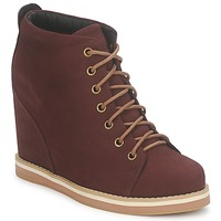 Buty Damskie Low boots No Name WISH DESERT BOOTS Bordeaux