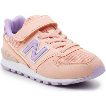 Buty Dziewczynka Trampki niskie New Balance Buty dziecięce  YV996M2 pomarańczowy