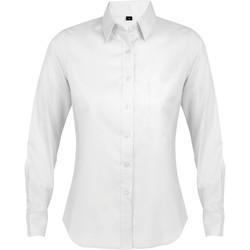 tekstylia Damskie Koszule Sols BUSINESS WOMEN Blanco