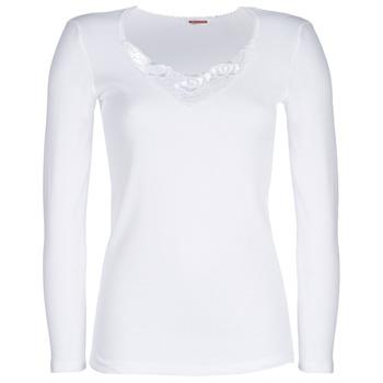 Bielizna  Damskie Podkoszulki  Damart CLASSIC GRADE 3 Biały